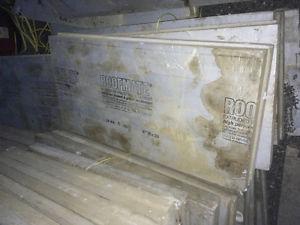 Extruded foam insulation