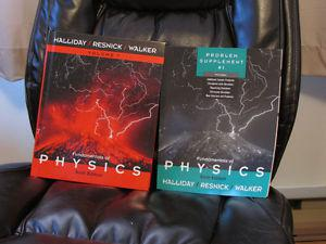 Fundamentals of Physics (Volume 1), 6th edition + Supplement