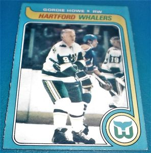 GORGIE HOWE - HARTFORD WHALERS  NM