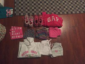 Girls summer clothes age 7-8yrs