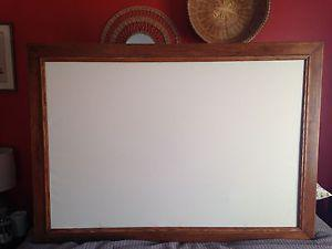 Huge canvas with frame