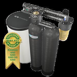 Kinetico Premier Series Dual tank water softener