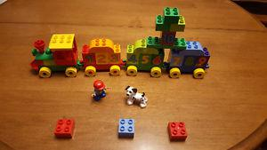 Lego Duplo My First Number Train Building Set #