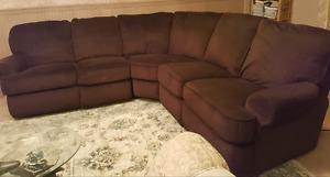 Megan 3 piece Sectional sofa.