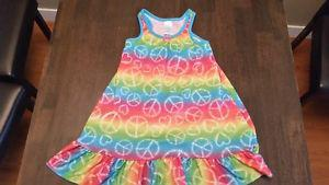 Multi color patterned nightgown - size 4 Children's Place