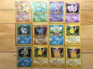 ORIGINAL POKEMON CARDS IN PERFECT CONDITION  obo