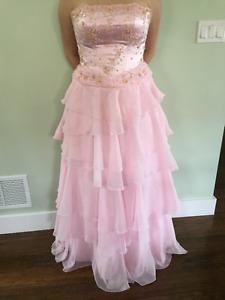 Pastel Pink Grad Dress