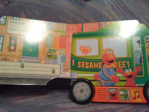 Play a sound books. Mickey mouse clubhouse and sesame Street