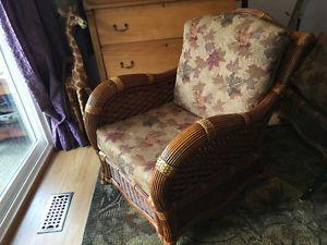 Rattan chairs