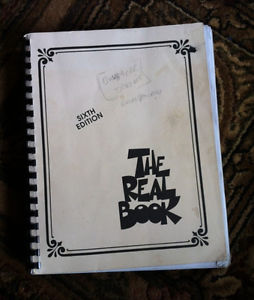 Real Book (6th), guitar and keys books