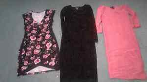 Three dresses, two never worn
