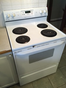 White Stove - Coil top