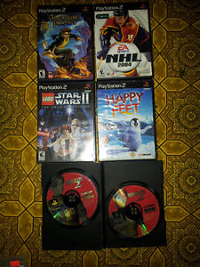 best offer 5 ps2 games
