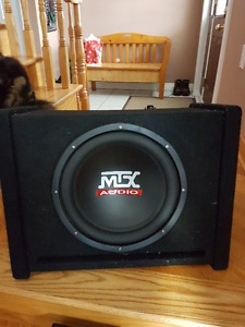 """12"""" MTX Subwoofer and Amp"""