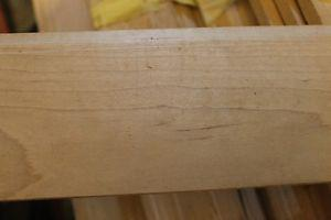 2 1/4 inch maple moulding