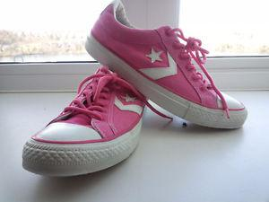 2 Pairs Converse All Star--Women's Size 8--$35/ea or 2 for