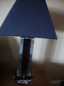 2 TABLE LAMPS $55. FOR BOTH.