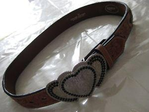 30 inch Western Leather Belt