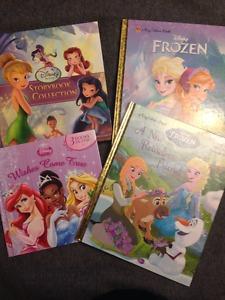 4 Disney Princess and Fairies Books