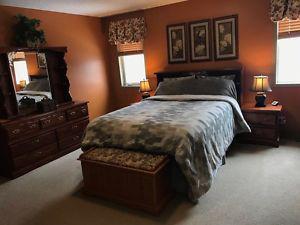 5 piece antique bedroom set