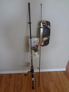 $60 - New Rod & reel. GREAT DEAL !!!