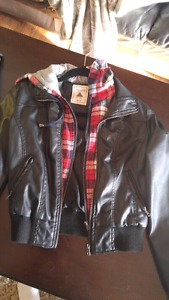 Ardene faux leather jacket