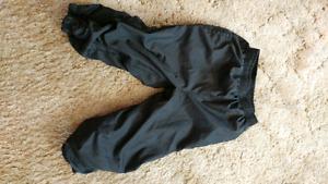 Boys black Splash pants