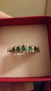 Brand new birthstone ring month of may