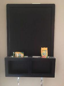 Chalkboard/Mail and Key Holder - Like New!