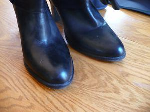 Coach High Leather Boots Size 10 Like New