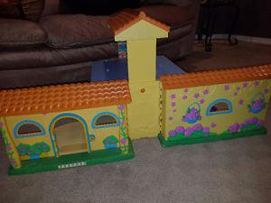Doll house with music $35 OBO