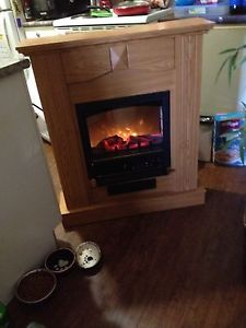 Elec fireplace