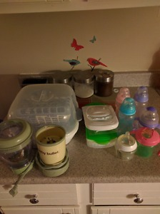 Food prep and bottle lot