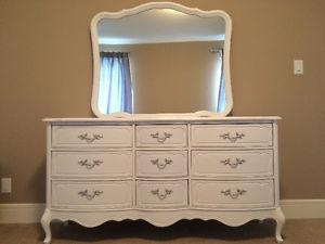 French Provincial 3 Piece Bedroom set