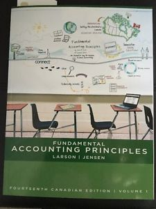 Fundamental Accounting Principles - Volume 1 &2 - New Books