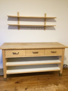 IKEA Kitchen Unit & Shelves