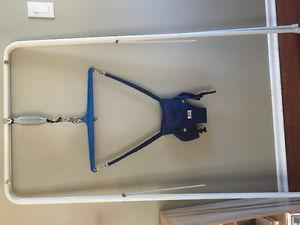 Jolly jumper with stand, perfect condition, in yorkton