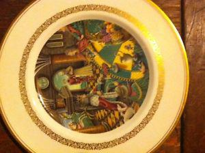 King Arthur plate set.. will to negotiate price