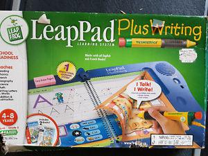 Leap Pad plus writing learning system