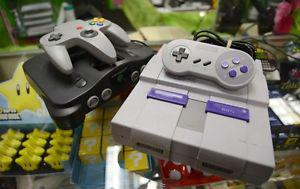 Looking for Super Nintendo or Nintendo 64 games