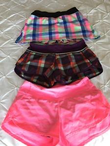 Lululemon Speed Short and skirt for sale Size 2 (3 for $50)