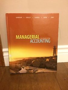 Managerial Accounting Business Textbook