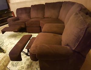 Megan 3 piece Sectional sofa