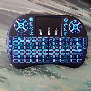 Mini wireless backlit keyboard for XBMC, Kodi, Smart TV,