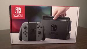 Nintendo Switch Grey Console - Brand New and Sealed /w