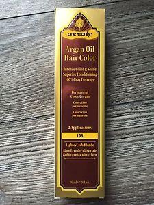 One 'n Only Argan Oil Permanent Hair Color, Lightest Ash