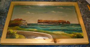 Original Signed Artwork by H.Nadeau -'s Gaspe',Quebec