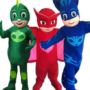 PJ Mask Mascots for Parties/Daycare/Special Events