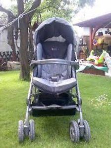 Peg Perego Stroller w/ car seat & 2 car bases