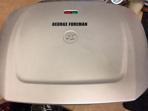 Practically new family size George foreman grill